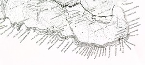 An excerpt from Tim Robinson's map of Inishmor, Aran Islands.
