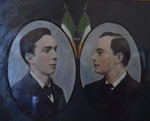 Willie and Patrick Pearse from a portrait at the Pearse Museum
