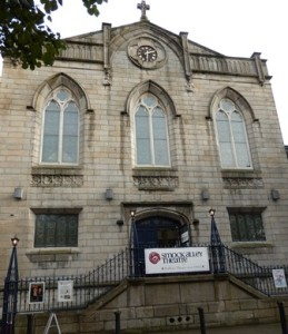 The newly renovated Smock Alley Theatre, just around the corner from Fishamble Street