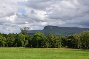 Ben Bulben from another angle, August 2014