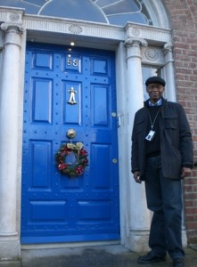 Willie Tolliver commemorating the O'Connell-Douglass meeting at O'Connell's house