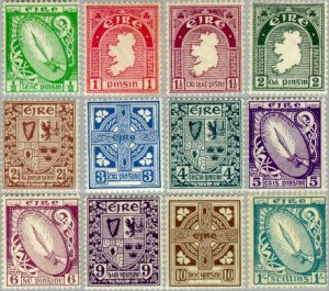 First Irish definitives, 1922