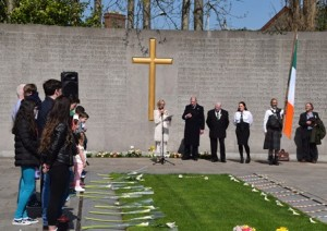 A Republican ceremony for the leaders of the 1916 Rising on Easter Monday 2015
