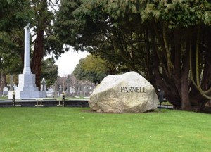 Parnell's grave at Glasnevin Cemetery