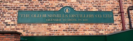 Bushmills is the oldest continuously producing whiskey distillery in the world