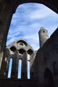 Cathedral at the Rock of Cashel where the infamous Myler McGrath held sway