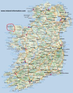 49 Map of Ireland
