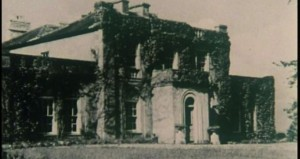 Woodbrook as it looked in Thomson's day with the wings added